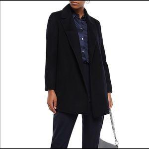 Theory Sileena Medium Nocturne Wool Coat NWT